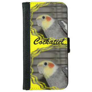 Cockatiel iPhone 6/6s Wallet Case