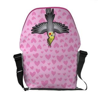 Cockatiel Love Courier Bag