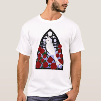 Cockatiel & Roses T-Shirt
