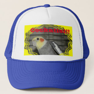 Cockatiel Trucker's Hat