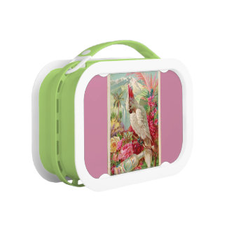 cockatoo cool Cocktail carry case Lunch Box