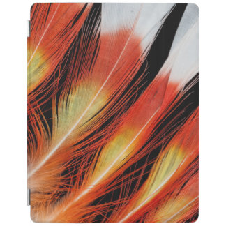 Cockatoo Feather Pattern iPad Cover