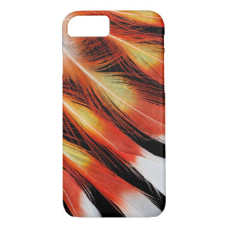 Cockatoo Feather Pattern iPhone 8/7 Case