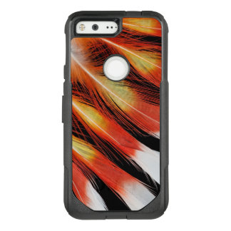 Cockatoo Feather Pattern OtterBox Commuter Google Pixel Case