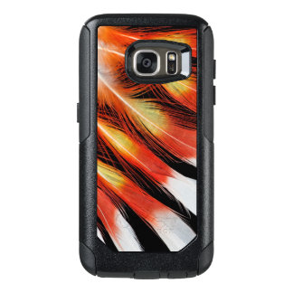 Cockatoo Feather Pattern OtterBox Samsung Galaxy S7 Case