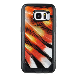 Cockatoo Feather Pattern OtterBox Samsung Galaxy S7 Edge Case