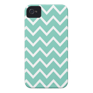 Cockatoo Turquoise Chevron Iphone 4S Case iPhone 4 Case-Mate Case