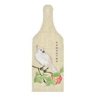 Cockatoo Vintage Japanese Camellia Cutting Board