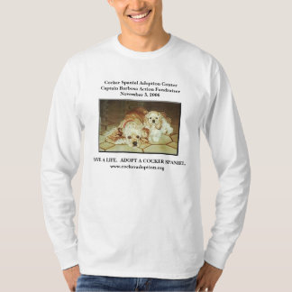 Cocker Spaniel Adoption Center T-Shirt