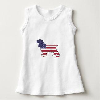 "Cocker spaniel ""American Flag"" Dress"