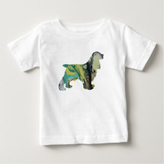 Cocker Spaniel Art Baby T-Shirt