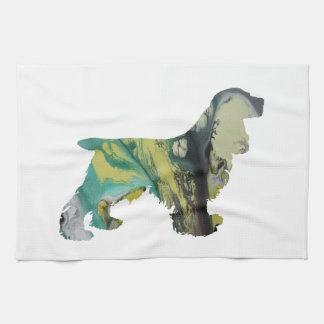 Cocker Spaniel Art Kitchen Towel