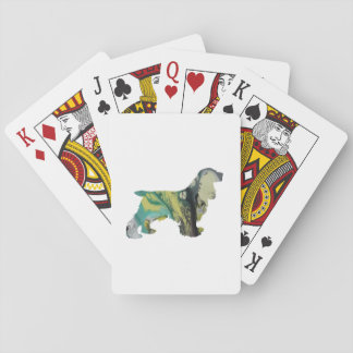 Cocker Spaniel Art Playing Cards