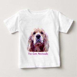 Cocker Spaniel Attitude Baby Wear Baby T-Shirt