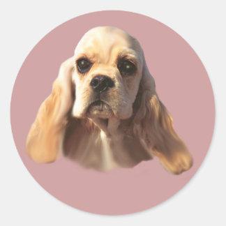 Cocker Spaniel Blondie Sticker