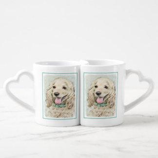Cocker Spaniel (Buff) Coffee Mug Set