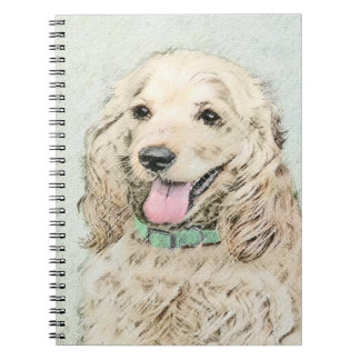 Cocker Spaniel (Buff) Notebook