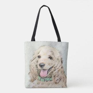 Cocker Spaniel (Buff) Tote Bag