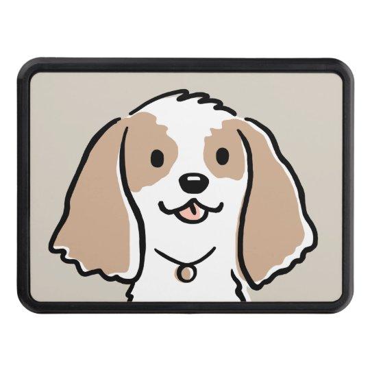 Cocker Spaniel Cartoon Dog Trailer Hitch Cover