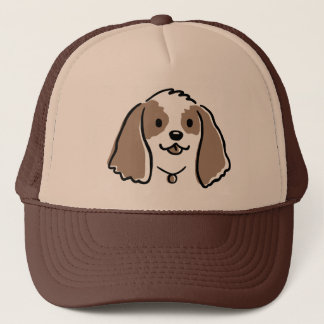 Cocker Spaniel Cartoon Dog Trucker Hat