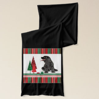 Cocker Spaniel Christmas Scarf
