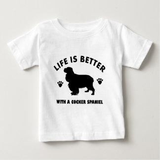Cocker spaniel dog baby T-Shirt
