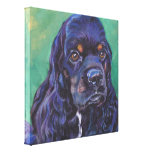 Cocker Spaniel Fine Art on Gallery Wrapped Canvas