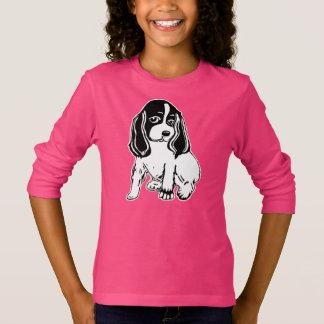 Cocker Spaniel Girls' Long Sleeve T-Shirt