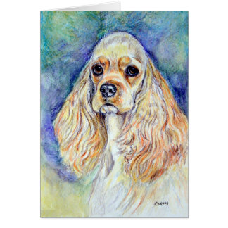 Cocker Spaniel Greeting Cards