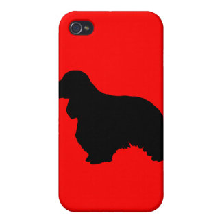 Cocker spaniel iPhone 4 cover