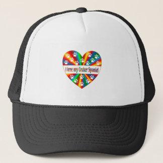 Cocker Spaniel Love Trucker Hat