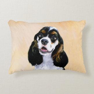 Cocker Spaniel (Parti-Colored) Decorative Pillow