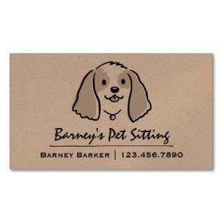 Cocker Spaniel | Pet Sitter | Animal Care Magnetic Business Card