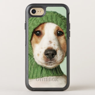 Cocker Spaniel Puppy Wearing Wool Cap OtterBox Symmetry iPhone 8/7 Case