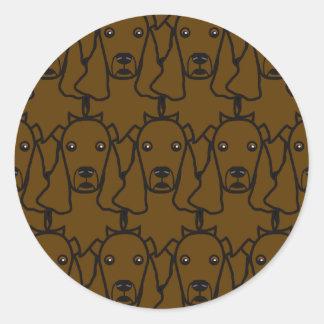 Cocker Spaniel Round Sticker