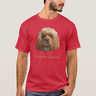 Cocker Spaniel t-shirts