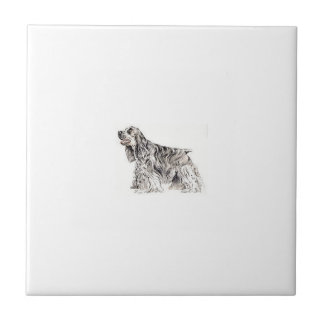 Cocker Spaniel Tile
