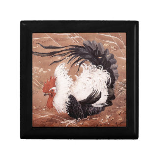Cockerel in the wind gift box
