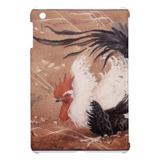 Cockerel in the wind iPad mini cover