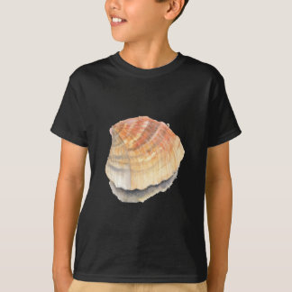 Cockle seashell, orange and yellow from the Beach T-Shirt