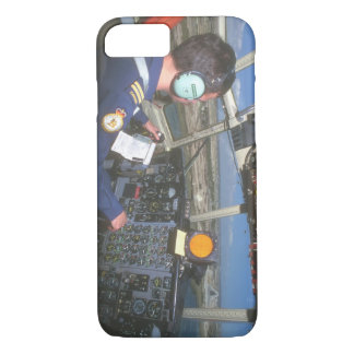 Cockpit of C-130_Military Aircraft iPhone 7 Case