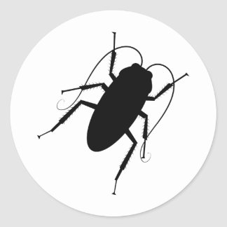Cockroach Classic Round Sticker