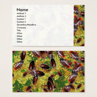 Cockroaches Business Card