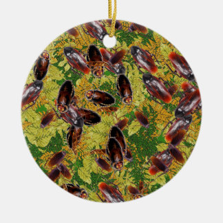Cockroaches Ceramic Ornament