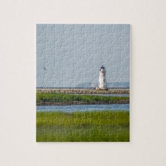 cockspur island  lighthouse savannah georgia puzzle