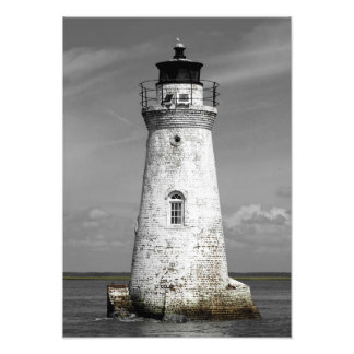 Cockspur Lighthouse Photo Print