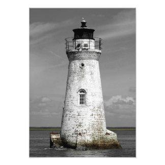 Cockspur Lighthouse Photograph