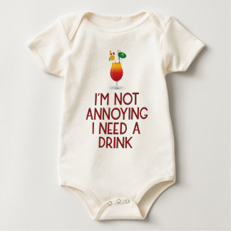 Cocktail alcohol party bartender bar festival baby bodysuit