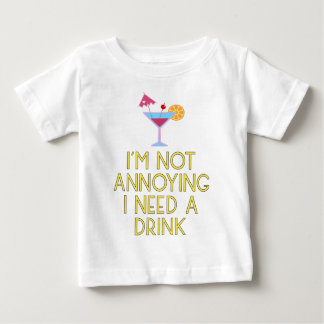 Cocktail alcohol party bartender bar festival baby T-Shirt