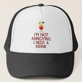 Cocktail alcohol party bartender bar festival trucker hat